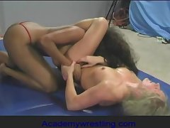 academywrestling.com  Dia Zerva, Africa Allen, Female Wrestling, Strapon Sex, Lesbian Fight, Competitive Wrestling, Pussy Grinding