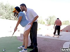 Passionate bonking at one's fingertips home with cheating housewife Rachel Starr