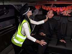 British Policewoman. Halloween