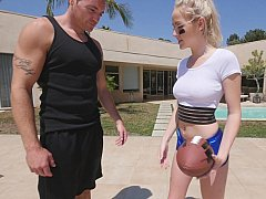 Naughty NFL hottie