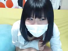 Japanese Cutie Teasing Here Non-Nude Webcam Show - AsianGFVideos