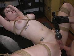 Perverted Anastasia Rose has juicy boobies and she is made for thraldom