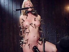 Naked busty mature hurt and eaten up down to the ground clamping BDSM