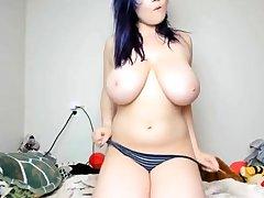 chunky busty romanian cam-slut