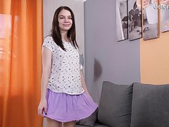 A bit shy together with laid hold of girl Glasha Belkina is ready for some defloration stuff